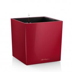 Lechuza Cube Premium 40 (kompletní set) červená lesk