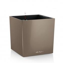 Lechuza Cube Premium 50 (kompletní set) taupe lesk