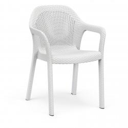 Lechuza židle Cottage bílá