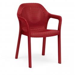 Lechuza židle Cottage červená
