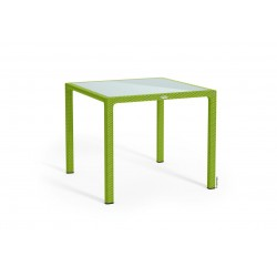 Lechuza stůl Cottage malý sklo zelené jablko