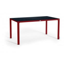 Lechuza stůl Cottage velký HPL červená