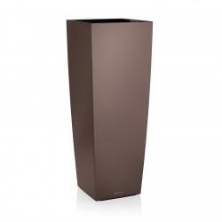 Lechuza Cubico 40 Alto obal - hnědá metalická