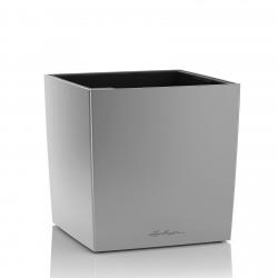 Lechuza Cube Premium 30 obal - stříbrná metalická