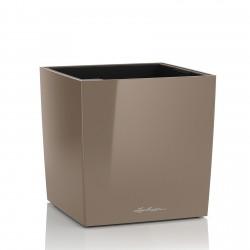 Lechuza Cube Premium 30 obal - taupe lesk
