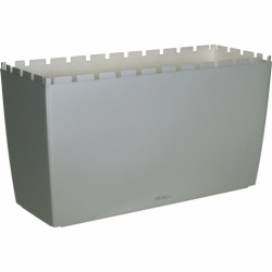 Lechuza Cararo obal - stříbrná metalická