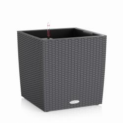 Lechuza Cube Cottage 50 (kompletní set) granit