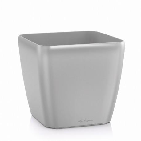 Lechuza Quadro 28 obal - stříbrná metalická