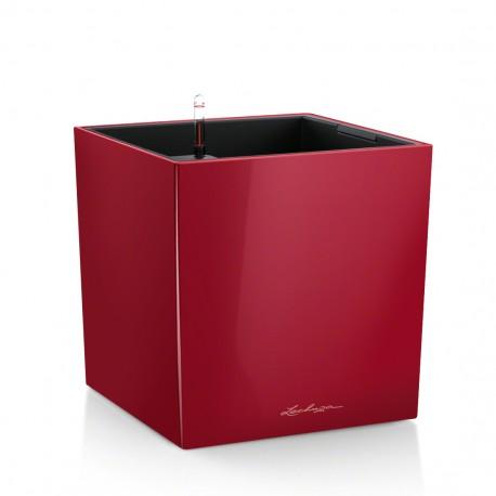 Lechuza Cube Premium 30 (kompletní set) červená lesk